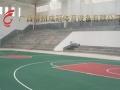 广西柳州硅PU羽毛球场地胶