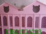 貓咪籠子柜籠實木生態板別墅大號寵物用品 鋁合金柜門柜籠