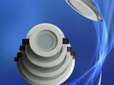 新款压铸玻璃圆形120mm  LED筒灯空壳  LED天花灯套件