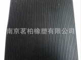 南京厂家细条纹橡胶板 红色 绿色 灰色 防滑橡胶板 绝缘橡胶板