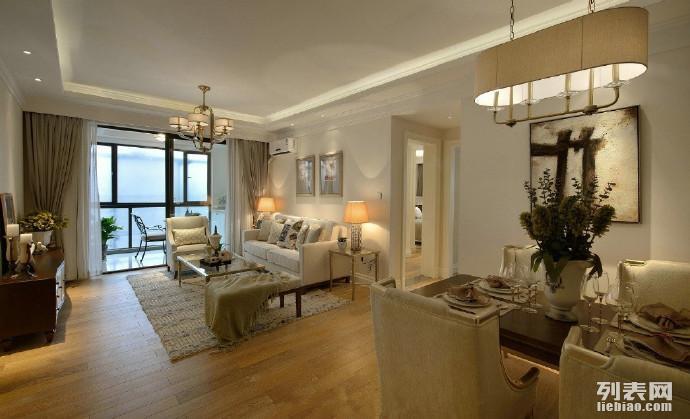 温馨内敛美式三居室,三门峡云家装为你打造