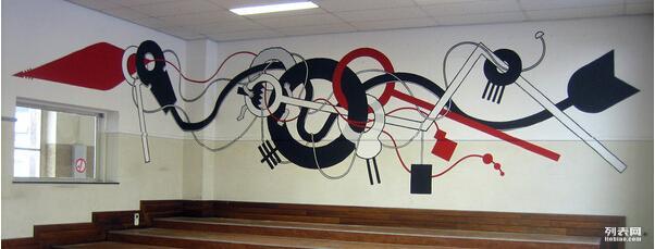 创意涂鸦墙制作 手绘涂鸦