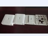 特价供应86型二光一电光纤信息桌面盒,三