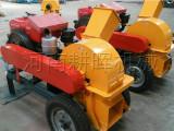 高质量移动式木材柴油粉碎机/柴油树根粉碎机供应商
