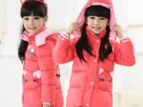 2014冬季新款童装 韩版女童羽绒服卡通羽绒外套 外贸批发 7