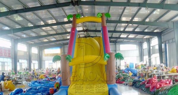 怎样选择支架游泳池 充气城堡 充气城堡滑梯 充气水滑梯 厂家