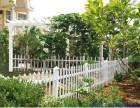 惠州PVC草坪护栏,惠州花园护栏,惠州园林景观护栏厂家