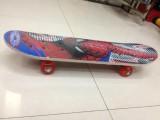 四轮滑板,九层双翘枫木滑板双面图案,PVC轮
