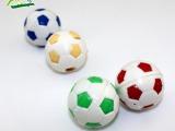 厂家直销儿童小玩具   塑料双色足球扭蛋