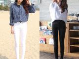 韩版女装显瘦打底裤外穿长裤修身小脚裤弹力女式裤子春装女休闲裤