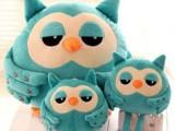 正品继承者们猫头鹰暖手捂同款猫头鹰抱枕手暖玩具圣诞节礼物礼品