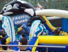 全新大型进口充气蹦床滑梯一体游乐设施出售租赁