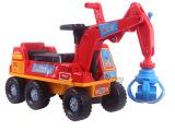 新款儿童工程车玩具车有趣抓手滑行车工程车坐可骑助力车