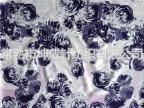 涤氨纶汗布(印花)针织运动服装面料