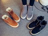 2016冬季韩版雪地靴加绒切尔西靴保暖棉
