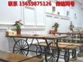 销售实木餐厅休闲桌椅 酒吧咖啡厅复古桌椅 吧椅吧椅昆明