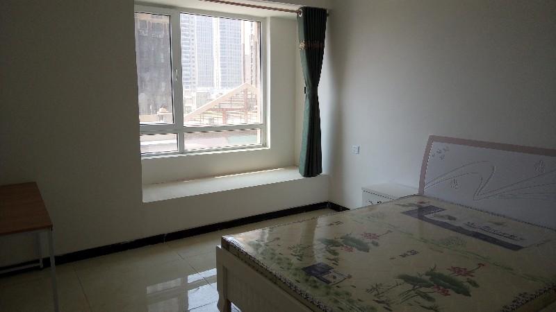 万达一室一厅一厨一卫一阳台整套实图无中介费