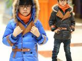 冬季正品羽绒服童装毛领儿童羽绒服男童宝宝羽绒内胆外套一件代发