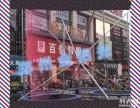 徐州四人同步游玩儿童钢架蹦极游乐设备