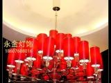订做各种现代简欧个性吊灯酒店工程灯具,铁