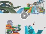 水上滑梯 组合滑梯 螺旋滑道 大型水上乐园厂家 水上乐园设施