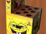 番禺大型小孩打老鼠儿童娱乐设备价格~海绵宝宝打地鼠游戏机