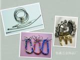 五金建筑用钢丝绳压接子头冲压 涂塑钢丝绳 威也钢绳 厂家直供