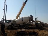 广西打桩队在百色挖桩机械钻桩施工案例