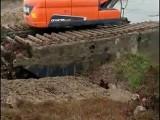 银川西夏沼泽地清於挖机出租公司