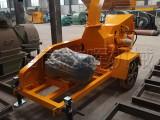新疆供应车载移动式木材粉碎机-移动木材削片机厂家