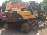 德州二手挖掘机沃尔沃210私人挖掘机