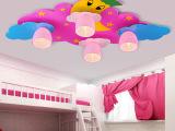 灯饰LED吸顶灯儿童房灯孩子温馨卧室灯房间创意卡通灯具星星月亮