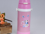 永康厂家亿来斯新款精品儿童不锈钢真空双层杯水杯六一儿童节礼品