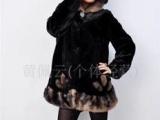 中老年服装冬装2011新款妈妈装皮草外套