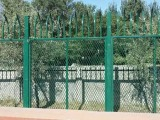 新疆浸塑鐵絲焊接圍欄網廠家