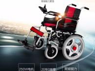 吉芮电动轮椅1801可折叠轻便老年人残疾人四轮代步车上海松江