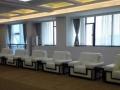 办公沙发布艺贵宾室接待会客厅单人商务会议洽谈区沙发