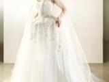 爱丽丝梦幻仙境真钻冰花雕琢公主婚纱