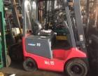 台励福2吨叉车出售 二手台励福电瓶叉车转让送货上门