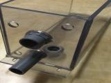 透明PVC槽焊接水槽加工透明水箱焊接高透明有机玻璃加工折弯
