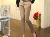 创业项目代理加盟 免费代理  气质时尚修身百搭女士铅笔裤