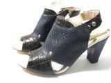 外贸鞋粗跟凉鞋里外全皮QC原单正品厂家直销女鞋批发库存仅一双