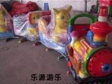 四川成都公园广场儿童轨道小火车