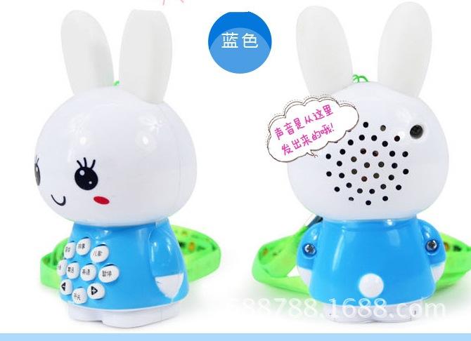 包邮迷你兔故事机婴幼儿童早教机益智玩具宝宝学习机发光批发活动