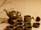 窑变茶具长嘴壶 钧窑茶具套装陶瓷功夫茶具 可加LOGO礼品订单批发
