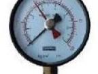 多范围双针指示压力表机器价格  厂家供应多范围双针指示压力表