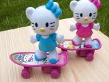 儿童玩具 滑板kt猫玩具批发 小玩具 KT猫滑板车玩具