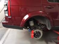 l路虎发现者 制动改装AP8520 大六活塞刹车卡钳套装