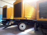 供应移动发电机组 应急拖车防雨棚 120kw