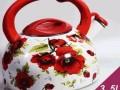 3.5L特价 搪瓷壶 鸣笛烧水壶茶壶凉水壶